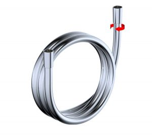 Shower Hose Basic Silver - 5007-00