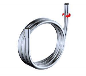 Shower Hose Basic Silver - 5007-00