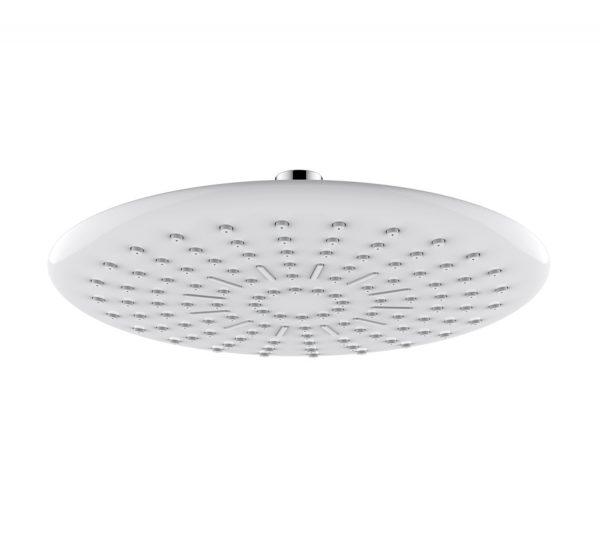 Shower head ABS- - chrome/white - 3012-00