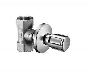 Concealed valve Schell DN 25