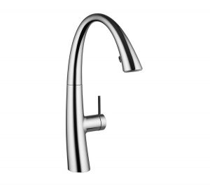 Kitchen mixer with shower ZOE - Chrome 10.201.102.000FL