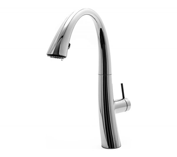 Kitchen mixer with shower and led ZOE - Chrome 10.201.122.000FL
