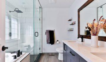 Was enthält das benutzerdefinierte Badezimmer einer Frau?