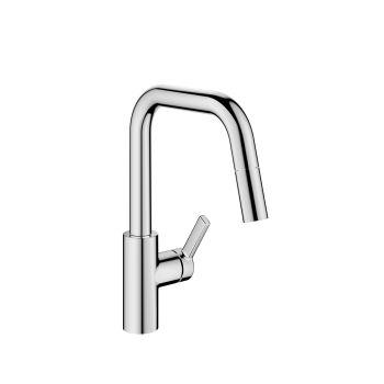 Küchenmixer mit Dusche KWC LUNA E – Chrome